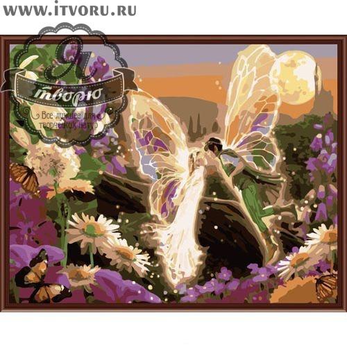 Набор для раскрашивания по номерам Любовь Палитра G356Раскраски по номерам<br>Набор для раскрашивания по номерам Любовь от компании Палитра. Очаровательная раскраска по номерам с волшебным сюжетом придется по душе каждому художнику.<br><br>На ней изображены два эльфа с прозрачными крылышками, которые целуются в полете. Они светятся от счастья и любви. Вокруг эльфов цветут разные красивые цветы. Романтический сюжет картины понравится всем влюбленным, ее можно подарить своей второй половинке.<br><br>В нашем интернет-магазине Я творю вы сможете найти любой набор для творчества, в том числе и Набор для раскрашивания по номерам Любовь от компании Палитра. Тут вы подберете раскраску по ее стоимости и размеру, уровню сложности тематике. Есть раскраски для детей и взрослых, себе или в подарок. Выбирая раскраску по номерам, не забудьте прочесть о ней подробное описание, а также рассмотрите ее на качественной фотографии.<br><br>Техника: раскраска по номерам<br>Схема: Цифровая схема<br>Основа: Холст на подрамнике<br>Кол-во цветов: 23<br>Материал: Хлопок<br>Размер: 40х50 см<br>Размер упаковки: 51,5 х 41 х 3 см<br>В состав набора входит: холст, натянутый на подрамник, с нанесенным контуром рисунка, краски, кисти 3 шт. из