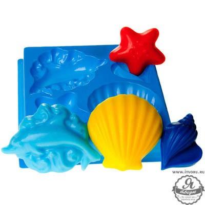 Форма профессиональная для изготовления мыла МК Морской Выдумщики 688758-4