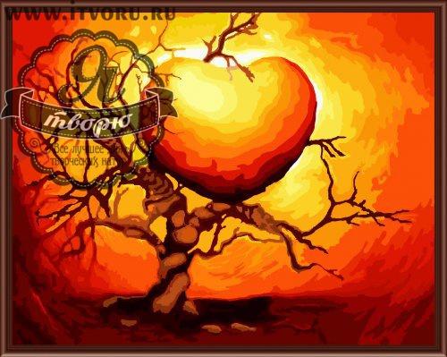 Набор для раскрашивания по номерам Сердце Палитра GX6140Раскраски по номерам<br>Набор для раскрашивания по номерам Сердце от компании Палитра. Эта удивительная раскраска по номерам станет настоящим украшением вашего дома.<br><br>Вам предстоит нарисовать красивое яркое сердце, которое растет на дереве. Каждый элемент этой картины раскрашивается по номерам определенным цветом акриловыми красками.<br><br>Многие люди любят рисовать, однако, не всем удается делать это профессионально. В таком случае раскрашивание по номерам сильно упрощает задачу, ведь теперь вы почувствуете себя настоящим художником. Для этого не требуется особых творческих навыков, просто закрашивайте номера на холсте определенными красками. Это занятие приведет вас в восторг, ведь в итоге получается настоящий художественный шедевр, которым можно гордиться.<br><br>Техника: раскраска по номерам<br>Схема: Цифровая схема<br>Основа: Холст на подрамнике<br>Материал: Хлопок<br>Размер: 40х50 см<br>Размер упаковки: 51,5 х 41 х 3 см<br>В состав набора входит: холст, натянутый на подрамник, с нанесенным контуром рисунка, краски, кисти 3 шт. из