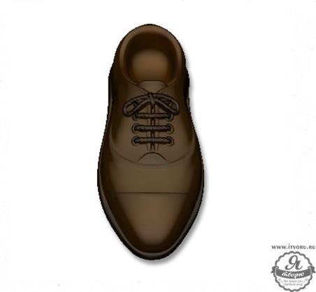 Форма для изготовления мыла Ботинок Выдумщики 688759-2