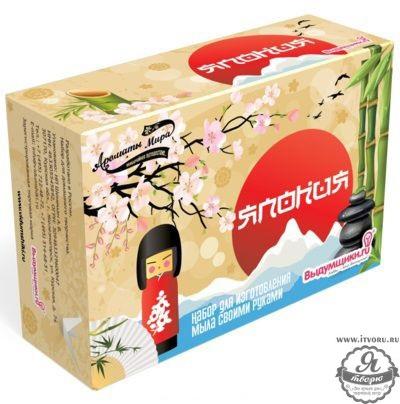 Набор для изготовления мыла Ароматы мира - Япония Выдумщики 688742-3