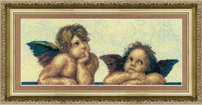Наборы для вышивки ангелочки 1