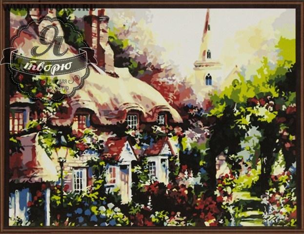 Набор для раскрашивания по номерам Старинный дом Палитра GX6174Раскраски по номерам<br>Набор для раскрашивания по номерам Старинный дом от компании Палитра. Если вы любите старинные европейские пейзажи, то вам придется по душе эта раскраска по номерам.<br><br>На картине изображаются уютные домики, которые утопают в зелени. Позади них виднеется высокая башня ратуши. Рядом с домами стоят фонари и вековые деревья. Домики выглядят как из сказки и обязательно вам понравятся.<br><br>Если вы не имеете профессиональных навыков художника, но любите рисовать, то раскраски по номерам станут вашим спасением. Теперь вы можете почувствовать себя настоящим живописцем, которые создает художественные шедевры. Рисуя по номерам, вы развиваете свои творческие навыки и восприятие цвета, мелкую моторику рук и логическое мышление, внимательность и воображение. Кроме того, это очень интересное и увлекательное занятие.<br><br>Техника: раскраска по номерам<br>Схема: Цифровая схема<br>Основа: Холст на подрамнике<br>Кол-во цветов: 24<br>Материал: Хлопок<br>Размер: 40х50 см<br>Размер упаковки: 51,5 х 41 х 3 см<br>В состав набора входит: холст, натянутый на подрамник, с нанесенным контуром рисунка, краски, кисти 3 шт. из