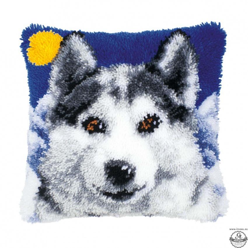 Набор для вышивки подушки Волк Vervaco 0014127-PN