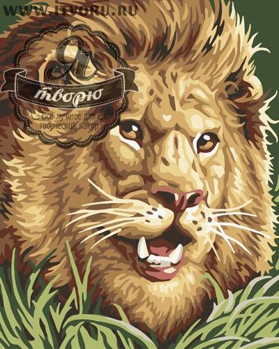 Набор для раскрашивания по номерам Грозный лев Палитра GX6206Раскраски по номерам<br>Набор для раскрашивания по номерам Грозный лев от компании Палитра. Львы - это цари зверей, которые живут в африканской саванне. Это грозные хищники, у которых нет врагов.<br><br>Вам предстоит раскрасить изображение рычащего льва, который выглядит очень смело и даже устрашающе. Такой смелый лев будет замечательно смотреться в вашем доме, защищая вас от всех недоброжелателей. Частичка жаркой Африки станет ярким пятном в строгом или классическом стиле вашего дома.<br><br>В интернет-магазине Я творю вы найдете множество различных товаров для творчества. Среди них и Набор для раскрашивания по номерам Грозный лев от компании Палитра, за которым вам захочется провести время. Выбирая раскраску, стоит учесть ее размер и стоимость, степень сложности рисунка и количество цветов. Вы найдете раскраску на любую тематику, будь то пейзаж или натюрморт, портрет или сказка. Каждый набор подробно описан и имеет качественную фотографию.<br><br>Техника: раскраска по номерам<br>Схема: Цифровая схема<br>Основа: Холст на подрамнике<br>Кол-во цветов: 12<br>Материал: Хлопок<br>Размер: 40х50 см<br>Размер упаковки: 51,5 х 41 х 3 см<br>В состав набора входит: холст, натянутый на подрамник, с нанесенным контуром рисунка, краски, кисти 3 шт. из
