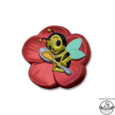 Форма для изготовления мыла Веселая пчелка Выдумщики 688759-3