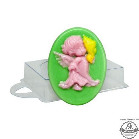 Форма профессиональная для изготовления мыла Ангел с ракушкой Выдумщики 688757-2