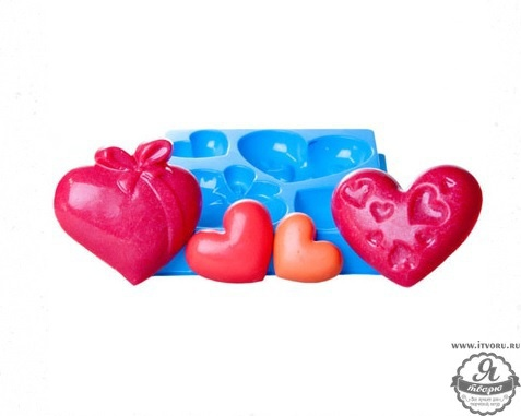 Форма профессиональная для изготовления мыла МК Любовь Выдумщики 688758-3