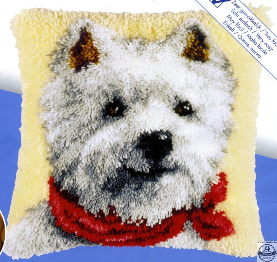 Набор для вышивки подушки Щеночек Vervaco 3560-2560