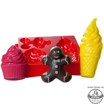 Форма профессиональная для изготовления мыла МК Десерт Выдумщики 688758-2