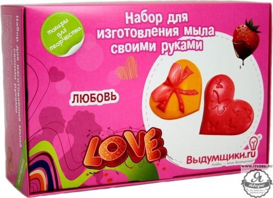 Набор для изготовления мыла Любовь Выдумщики 688742-6