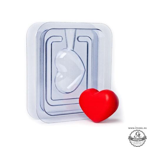Форма для изготовления мыла 3D Сердечко Выдумщики 544199-3