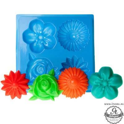 Форма профессиональная для изготовления мыла МК Цветы Выдумщики 688758-6
