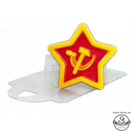 Форма для изготовления мыла Звезда патриота Выдумщики 688759-6