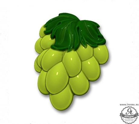Форма профессиональная для изготовления мыла Виноград Выдумщики 688757-5