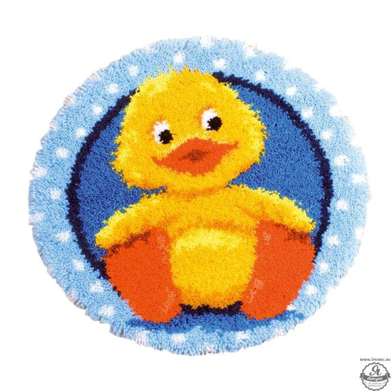Набор для вышивки коврика Утенок Vervaco 0145324-PN