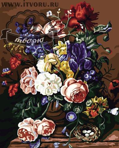 Набор для раскрашивания по номерам Букет волшебных пионов Палитра GX6108Раскраски по номерам<br>Набор для раскрашивания по номерам Букет пионов от компании Палитра. Если вы любите  цветы, то вам придется по душе эта раскраска по номерам.<br><br>Вам предстоит раскрасить каждый участок картины определенным цветом, указанным на холсте акриловыми красками. На картине изображен изумительный букет нежных пионов. Цветы - классический сюжет, который гарантированно впишется в любой стиль интерьера как квартиры, так и загородного дома.<br><br>Когда вы выбираете себе или в подарок раскраску по номерам, стоит обратить внимание на ее размер и уровень сложности, стоимость и тематику. В интернет-магазине Я творю есть пейзажи и портреты, натюрморты и сюжетные картины. Среди них и Набор для раскрашивания по номерам Букет пионов от компании Палитра. Каждый набор имеет все необходимые материалы высокого качества, которые не вызывают аллергию и раздражение. Кроме того о нем можно прочесть описание и разглядеть его на фотографии.<br><br>Техника: раскраска по номерам<br>Схема: Цифровая схема<br>Основа: Холст на подрамнике<br>Кол-во цветов: 30<br>Материал: Хлопок<br>Размер: 40х50 см<br>Размер упаковки: 51,5 х 41 х 3 см<br>В состав набора входит: холст, натянутый на подрамник, с нанесенным контуром рисунка, краски, кисти 3 шт. из