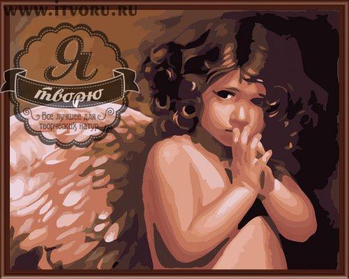 Набор для раскрашивания по номерам Ангелочек Палитра GX6269